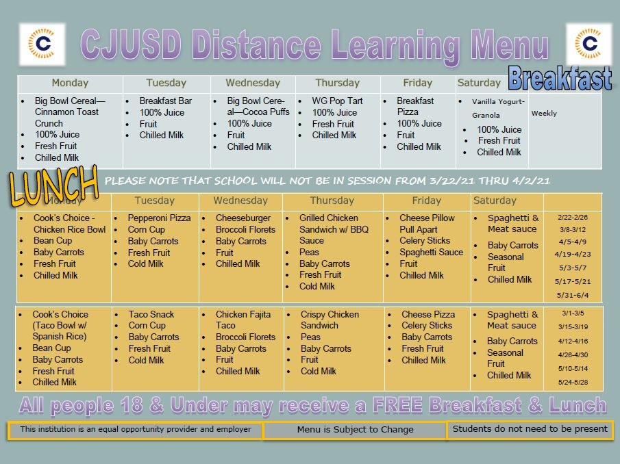 Covid - DL Menu - Jan thru June 2021.JPG