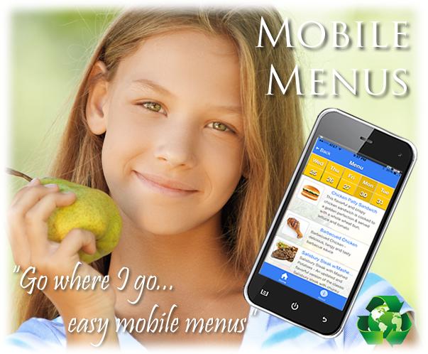 Mobile Menu App