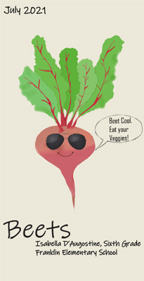 Beet by Isabella D'Augostine, 6th Grade at Franklin Elementary