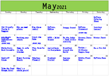 Nutrition Activities May 2021