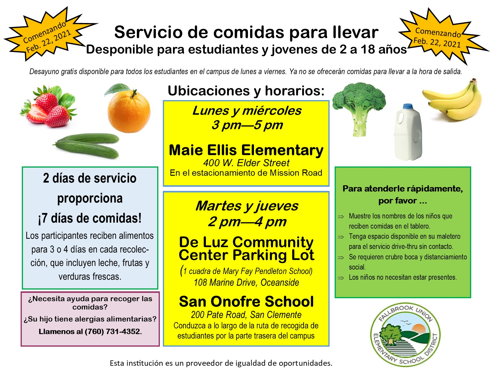 Flyers/Bulk Meal Service Announcement starting Feb.22.Spanish.jpg