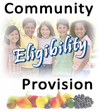 Button for community eligibility information
