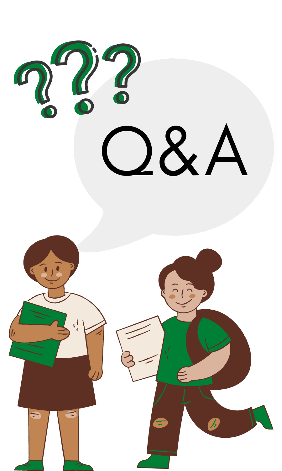 Questions and Answers Graphic