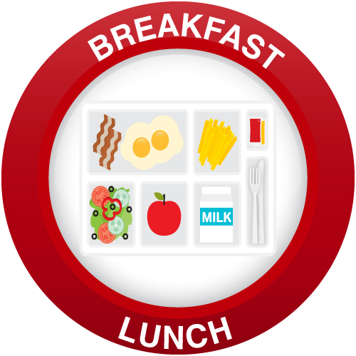 This is the image for the news article titled New Breakfast & Lunch Program