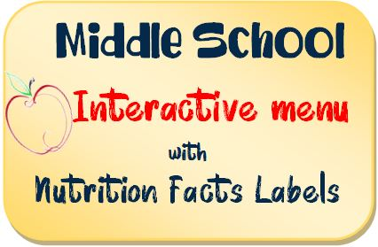 School Menu - Secondary school interactive menu.jpg
