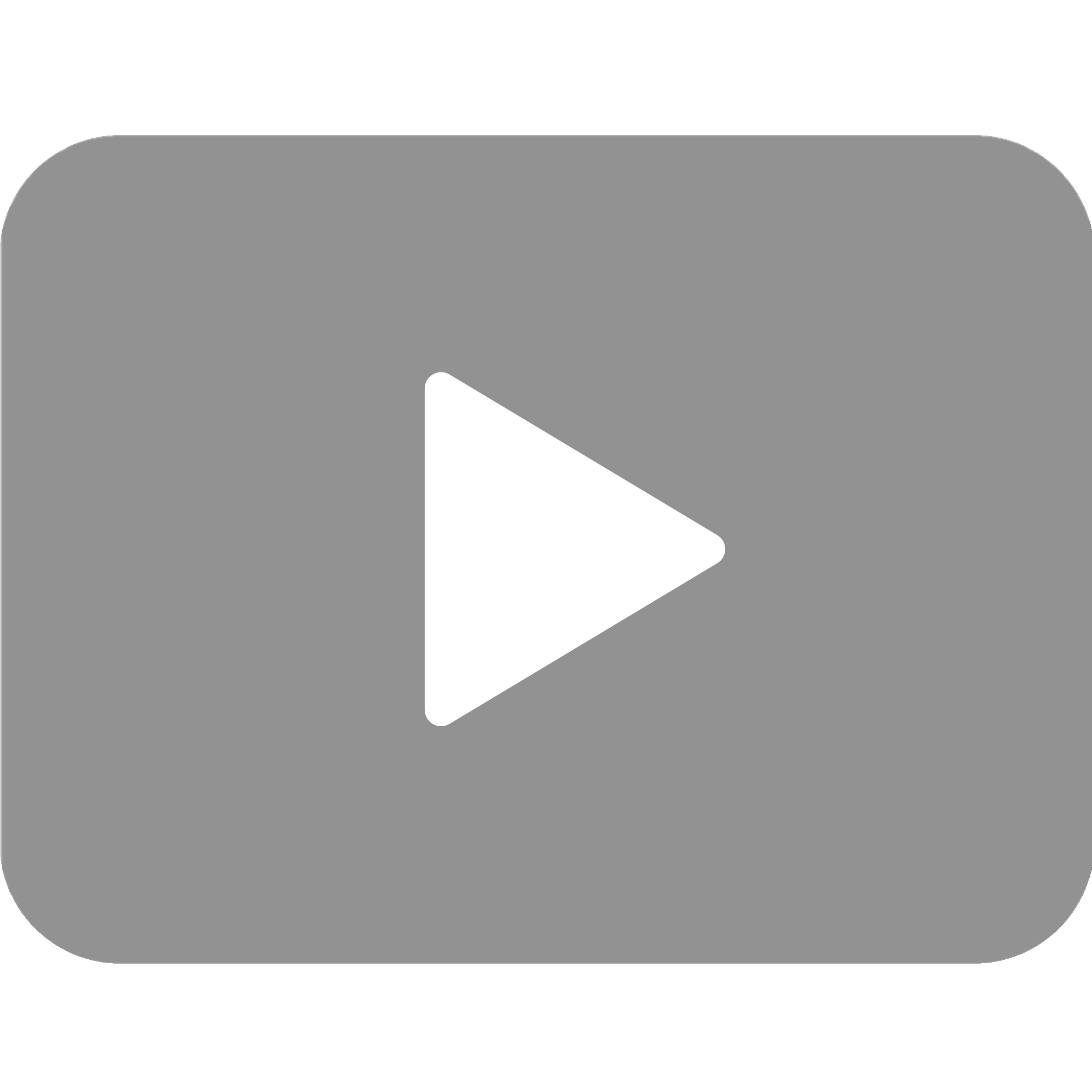 video triangle button