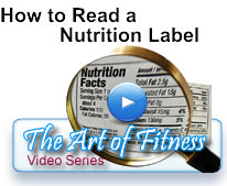 Art of Fitness Video - How to Read a Nutrition Label
