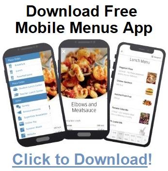 Mobile Menu Info Link for Parents