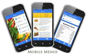 Web Menus Mobile App