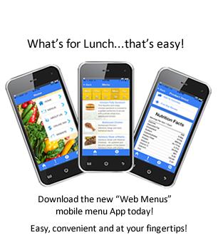 Mobile Menus - download the App today!