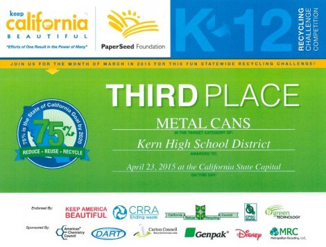 3rdPlace image - Kern High School District
