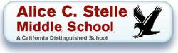 Alice E Stelle menu button