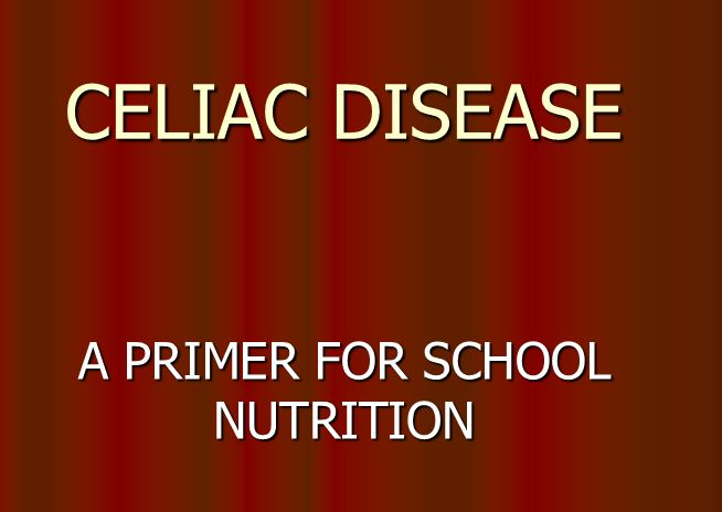 Celiac Disease Presentation