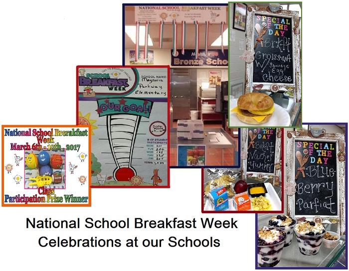 Magnolia Schools Celebrate National School Breakfast Week!