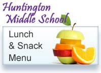 Huntington Middle School Menu button