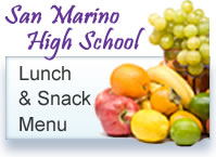 San Marino High School Menu button