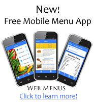 Mobile Menus App image