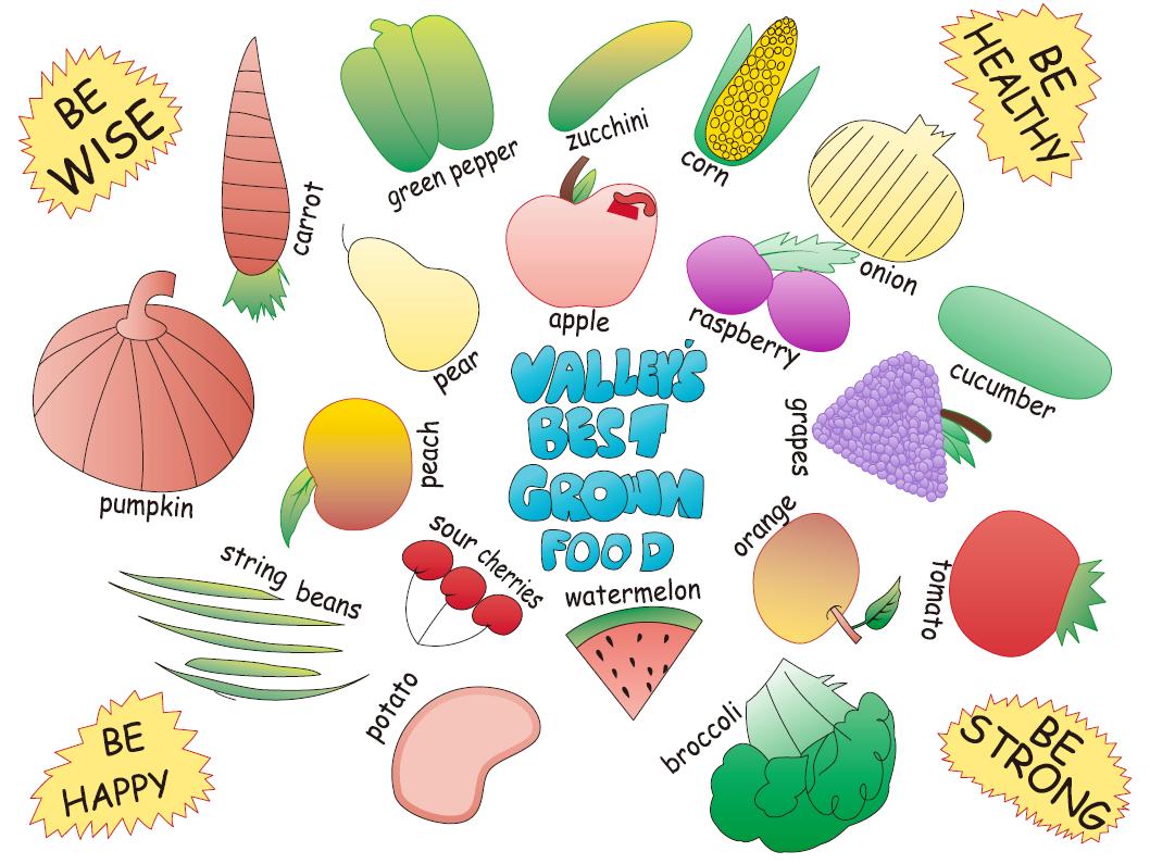 Nutrition Services Art Contest Design Winner