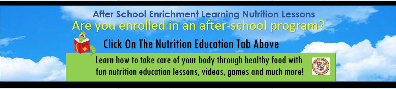 Nutrition After School Program